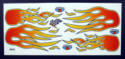 Rc Car Decals, 1/10th Flames, Street Stock, Bombers, Dirt Trucks, Dirt Oval 542