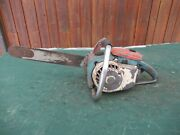Vintage Lombard 5-1013 Chainsaw Chain Saw With 16 Bar