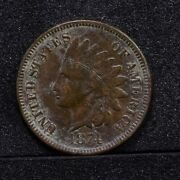 1874 Indian Cent - Xf 29037