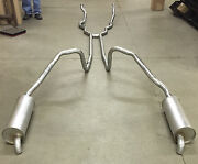 1966 Ford Thunderbird Dual Exhaust System Aluminized With 428 Engines