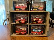 Coca Cola Matchbox Car Display.. Complete Set Of 6 In Original Boxes. Great Cond