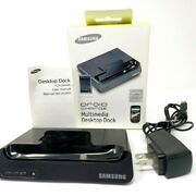 Samsung Droid Charge Multimedia Desktop Dock Ecr-d994begsta Box And Instructions