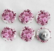 Fabric Covered Shanks Trim Buttons With Aluminum Backing 2 Holes Craft Buttons