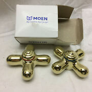 Moen Faucet 97447 C Handles Hot And Cold Water New Old Stock Not Used Monticello
