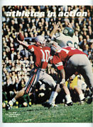 1969 Athletes In Action _rare_ Vol 2 No 4 Football Magazine Ohio State/l.a. Rams