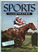 Sports Illustrated _no. 10 Oct 18 1954 Magazine Horse Racing Detroit Red Wings