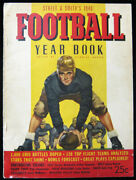 1940 Street And Smithand039s Football Yearbook - Rare 1st Issue Vtg College Magazine