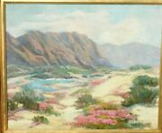Marie Kendall, B.1885 Early Ca Oil/canvas 20 X 24,