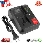New For Black+decker And Porter Cable 20v Max Lithium Battery Pcc692l 20v Charger