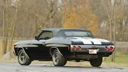 New 1968-1972 Chevelle/malibu Black Vinyl Convertible Top With Glass And Pads