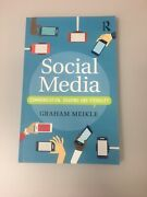 Social Media Communication, Sharing And Visibiliity Up By Graham Meikle 2016