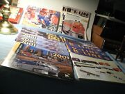 Booklets From K-line And Lionel Trains Twenty Total Booklets/catalogs