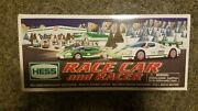 Hess Toy Truck Collection - 2009 Race Car And Racer