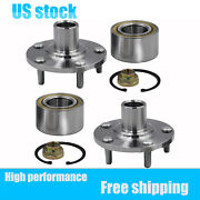 Pair2 Front Wheel Hub And Bearing Assembly Left + Right For 1992-04 Toyota Lexus