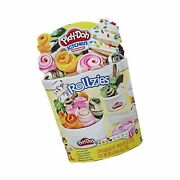 Play-doh Kitchen Creations Rollzies Rolled Ice Cream Set With 4 Cans Of Play-...
