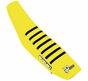 Dand039cor Factory Reinforced Seat Covers 30-40-457 Yellow Black Ribs