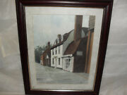 My Local Area Water Colour Signed By Katy Sodem