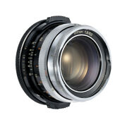Rare Carl Zeiss Ikon Ultron 50mm F1.8 Lens Converted Canon Ef Mount / 90d W