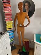 Rare Vintage Art Deco 20s 30s Mannequin Woman Once Owned By Barbra Streisand