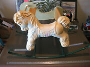 Vintage Wonder Shoo Fly Rocking Horse Childs Bouncy Toy 1960s