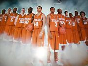 2006-07 University Of Texas Longhorns Team Basketball Poster W/ Kevin Durant New