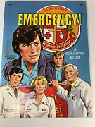 Vintage Tvandrsquos Emergency A Coloring Book 1977 Authorized Edition