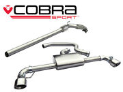 Cobra 3 Exhaust Non-res Turbo Back And Sports Cat For Vw Golf Gti Mk6