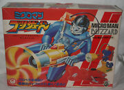 Vintage Takara Microman B-4 Ceres Blizzard-complete And Working