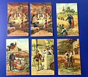 6 Lordand039s Prayer Antique Postcards. Pfb Publisher. Collector Items. Nice W Value