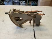 1956 Chevy Deluxe Heater Control Assembly Used Oem Original