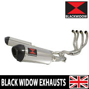 Zzr 1200 4-2 Exhaust System 12 Oval Stainless Steel + Carbon Muffler 300st