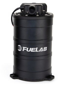 Black Fuelab Fuel Surge Tank System With Pump And Controller 235mm H / 625 Bhp