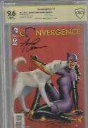 Convergence 7 Cbcs 9.6 Signed By Amanda Conner