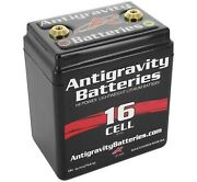 Antigravity Batteries 16 Cell Small Case Lithium-ion Motorcycle Batteries Ag-160