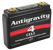Antigravity Batteries 4 Cell Small Case Lithium-ion Motorcycle Batteries Ag-401