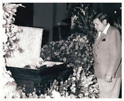Real Photo Of Babe Ruth At A Funeral Wake 8 1/2 X 11 On Kodak Photo Paper