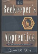 The Beekeeper's Apprentice Laurie R King Signed 1st/1st Hc/dj 1994
