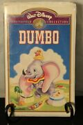 Walt Disney Masterpiece Collection Dumbo Vhs 1985