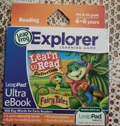 Leapfrog Leappad Ultra Ebook Learn To Read Collection Fairy Tales New And Sealed