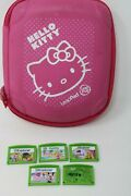 Lot Leap Frog Leappad Games Tangled Barbie Minnie Mouse + Carry Case