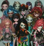 List 3 Monster High Dolls Inc Some Original Accessories - Choose From Various