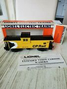 Lionel Cp Rail Extended Vision Caboose 6-19705