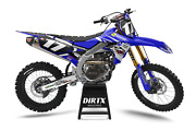New Dirtx Industries Yamaha Of Troy Complete Graphics Kit Yz 85 125 250 450
