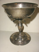 Exquisite Vintage Sterling Silver Sanborns Mexican Arts Crafts Compote Cup Tazza