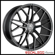 Avant Garde 20 M520r Graphite Metallic Concave Wheels Fits Ford Mustang Gt Gt5