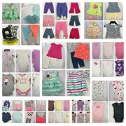 75 Piece Huge Lot Baby Girl 3 Month Clothes Outfits Pajamas Sets Pants Bodysuits