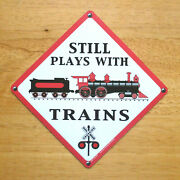 Magnet Still Plays With Trains Locomotive Engine Made In Usa