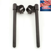 54mm Rised Cnc Motorcycle Clip Ons Fork Handlebar Clamp Mount Usa For Buell Bmw