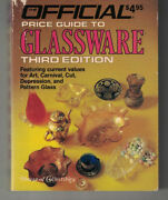 Official Price Guide To Glassware 3rd Ed - House Of Collectibles Pb 1986