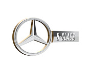 Mercedes-benz B-class Oem Integrated Backup Camera System